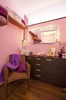Behandlungszimmer Kosmetikstudio Spürbar